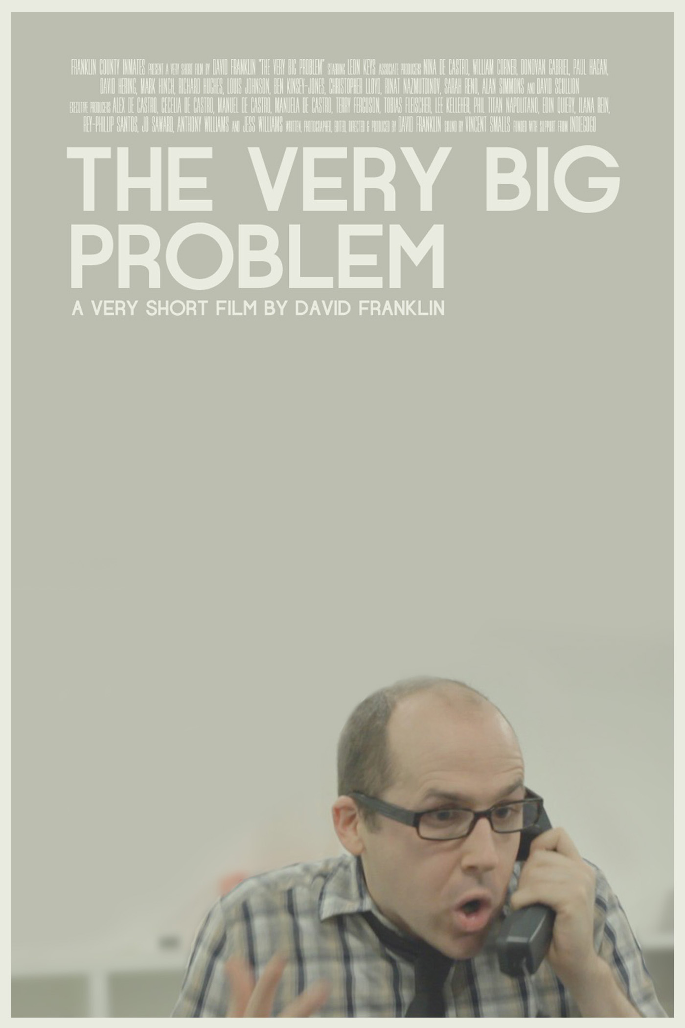 The Very Big Problem Poster